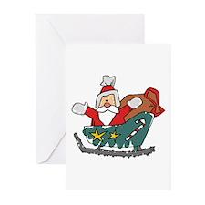 Santa Claus Greeting Cards (Pk of 10)