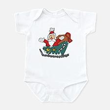 Santa Claus Infant Creeper