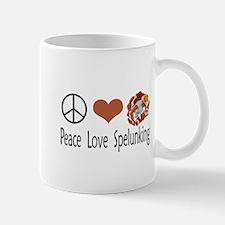 Peace Love Spelunking Mug