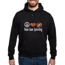 Peace Love Spelunking Hoodie