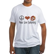 Peace Love Spelunking Shirt