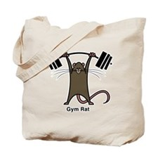 Cute Funny gym Tote Bag