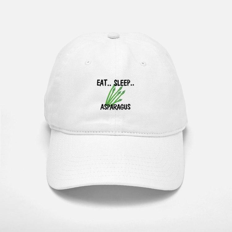 Eat ... Sleep ... ASPARAGUS Baseball Baseball Cap