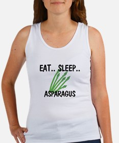 Eat ... Sleep ... ASPARAGUS Women's Tank Top