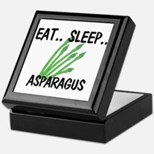Eat ... Sleep ... ASPARAGUS Keepsake Box