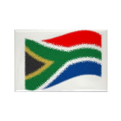Nkosi Sikelel'i Afrika Rectangle Magnet