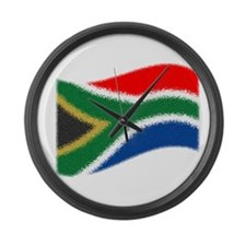 Nkosi Sikelel'i Afrika Large Wall Clock