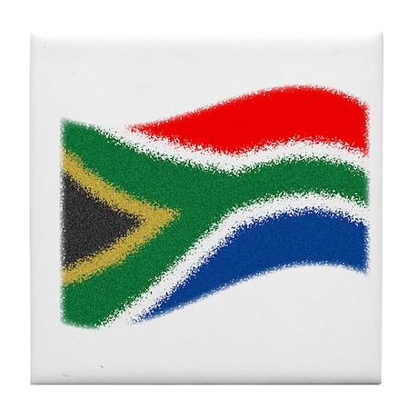 Nkosi Sikelel'i Afrika Tile Coaster