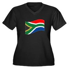 Nkosi Sikelel'i Afrika Women's Plus Size V-Neck Da