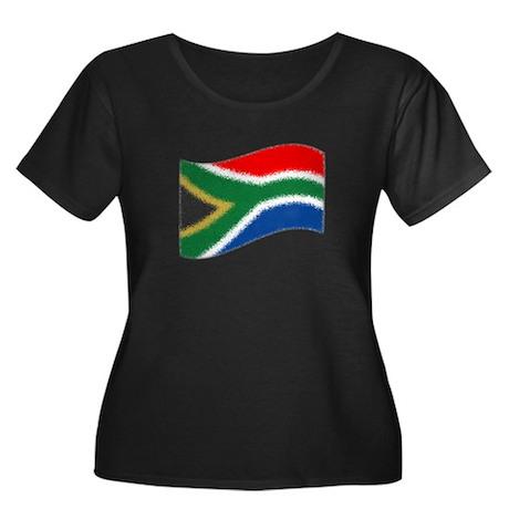 Nkosi Sikelel'i Afrika Women's Plus Size Scoop Nec