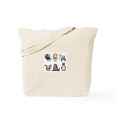 Cute Donkies Tote Bag