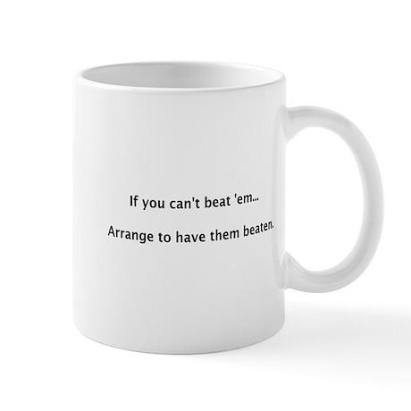 Can't Beat 'em Mug