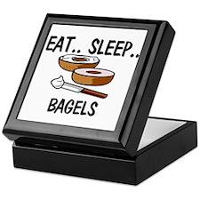 Eat ... Sleep ... BAGELS Keepsake Box