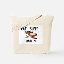 Eat ... Sleep ... BAGELS Tote Bag