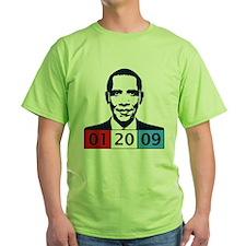 Obama 01-20-09 T-Shirt