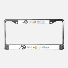 Cute Physical therapy License Plate Frame