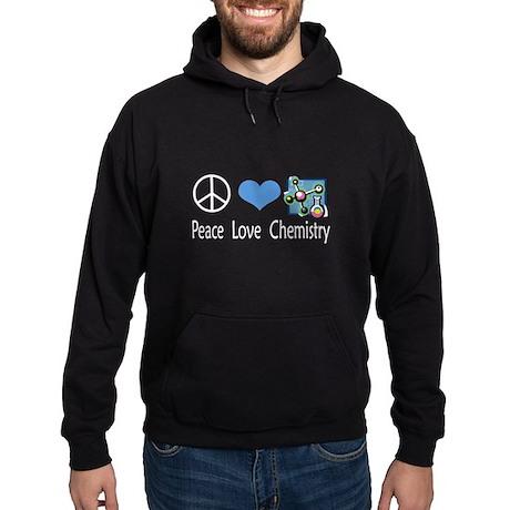 Peace Love Chemistry Hoodie (dark)