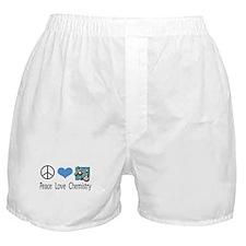 Peace Love Chemistry Boxer Shorts