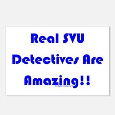 Real SVU Det. Amazing Postcards (Package of 8)
