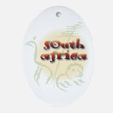 South Africa Oval Ornament