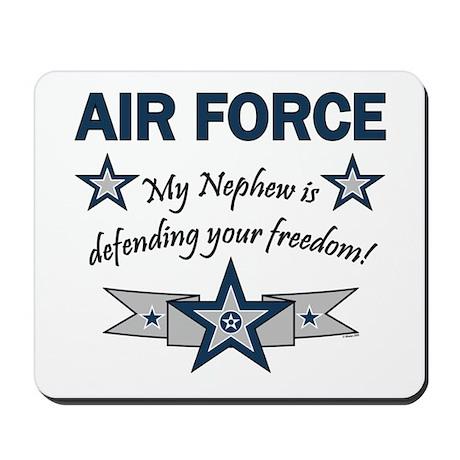 Air Force Nephew Defending Mousepad