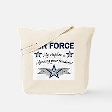 Air Force Nephew Defending Tote Bag
