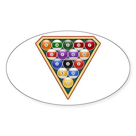 Super 8 Oval Sticker