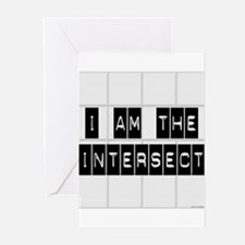 I am the Intersect - Chuck Greeting Cards (Pk of 1