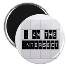 I am the Intersect - Chuck Magnet