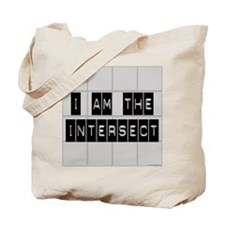 I am the Intersect - Chuck Tote Bag