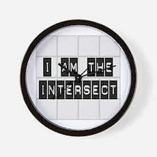 I am the Intersect - Chuck Wall Clock