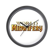 World of Midwifery Wall Clock