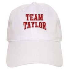 Team Taylor Personalized Custom Baseball Cap