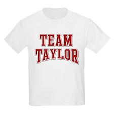 Team Taylor Personalized Custom T-Shirt