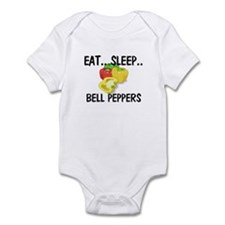 Eat ... Sleep ... BELL PEPPERS Infant Bodysuit