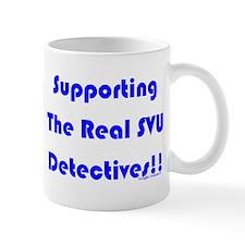 Supportin Real SVU Detectives Mug