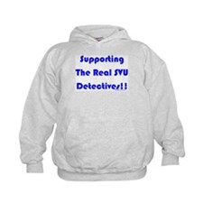 Supportin Real SVU Detectives Hoodie