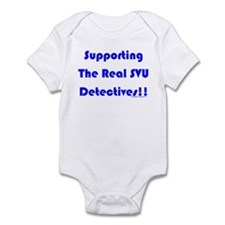 Supportin Real SVU Detectives Infant Bodysuit