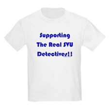 Supportin Real SVU Detectives T-Shirt