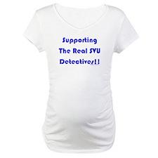 Supportin Real SVU Detectives Shirt