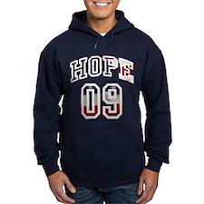 Obama Hope 09 Hoodie