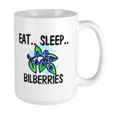 Eat ... Sleep ... BILBERRIES Mug