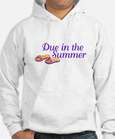 Due In The Summer Hoodie