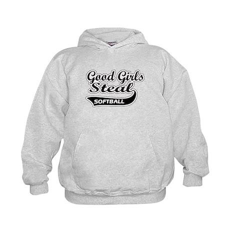 Good Girls Steal (black) Kids Hoodie