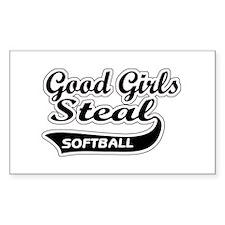 Good Girls Steal (black) Rectangle Sticker 10 pk)