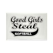 Good Girls Steal (black) Rectangle Magnet