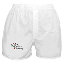 Due In February Boxer Shorts