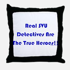 True Heroes Throw Pillow