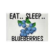 Eat ... Sleep ... BLUEBERRIES Rectangle Magnet (10