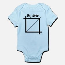 Oh, Crop Infant Bodysuit